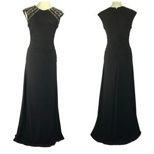 Vince Camuto Black Evening Gown